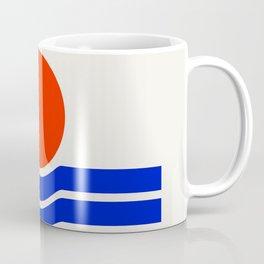 Going down-modern abstract Coffee Mug