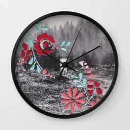 In Peace #3 Wall Clock