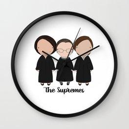 The Supremes 2016 Wall Clock