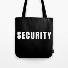 SECURITY TEE SHIRT Tote Bag