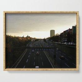 Berlin city life Serving Tray