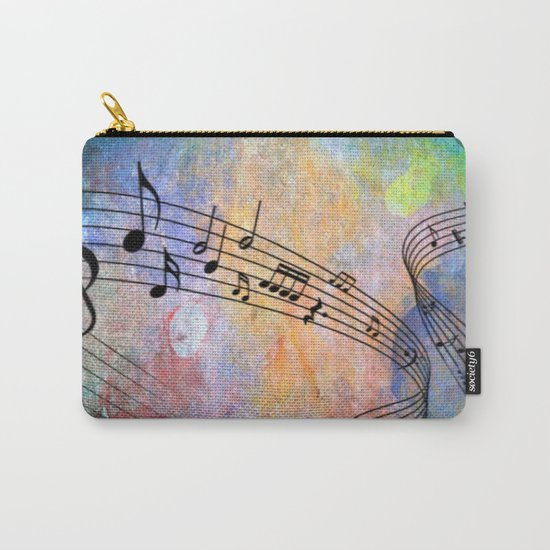 Abstract MUSIC Carry-All Pouch