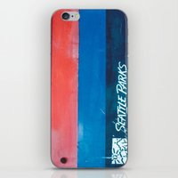 parks and recreation iPhone & iPod Skins featuring Seattle Parks & Recreation by TriReeval