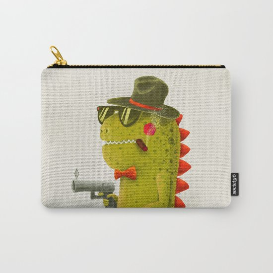 Dino bandito (olive) Carry-All Pouch