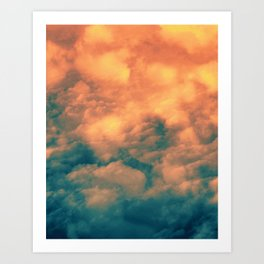Dust from a distant sun Art Print