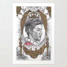 The Royalty Art Print