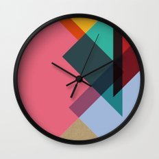 Triangles (Part 2) Wall Clock