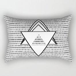 Binary code Rectangular Pillow