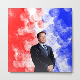 Jed Bartlet 2 Metal Print