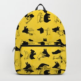 Yellow Shadow Puppets Backpack