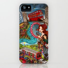 Sounds of London iPhone Case
