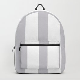 Gray vertical lines Backpack