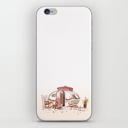 Caravan - Homes of the World iPhone Skin