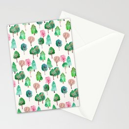 Little Trees Stationery Cards