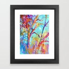 January Tree Framed Art Print