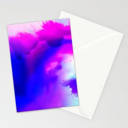Abstract Bliss 1 by kathy Morton Stanion Stationery Cards
