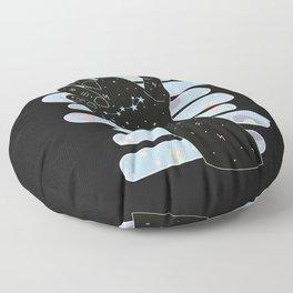 Pisces Illustration Floor Pillow
