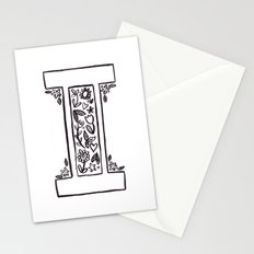 I is for Stationery Cards