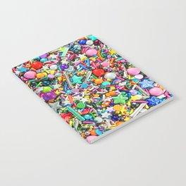 Rainbow Sprinkles - cupcake toppings galore Notebook