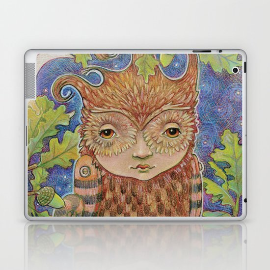 Oak & Owl Laptop & iPad Skin