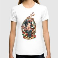 jon snow T-shirts featuring Waiting For Loves True Kiss by Tim Shumate