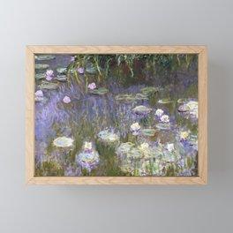 Water Lilies 1922 by Claude Monet Framed Mini Art Print