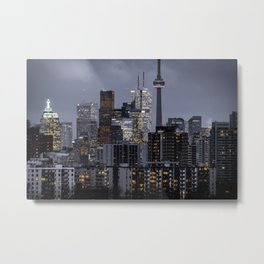 City night ville Metal Print