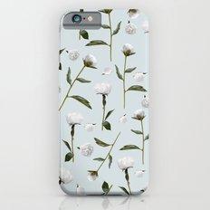 Peonies Winter Mist Slim Case iPhone 6