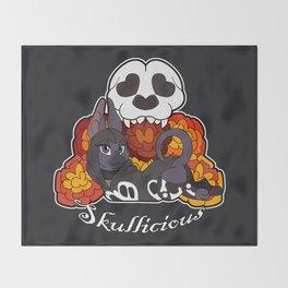 Skullicious Throw Blanket