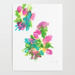 180802 Beautiful Rejection  1| Colorful Abstract Poster