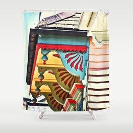 Shotgun House Trim Shower Curtain