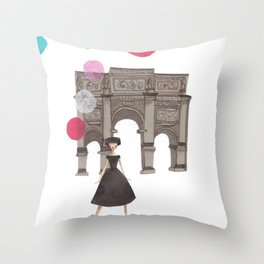 Balloons Throw Pillow