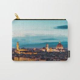 Maria del Fiore and Palazzo Vecchio in the Evening Carry-All Pouch