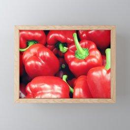Red Peppers Framed Mini Art Print