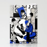 telephone Stationery Cards featuring Telephone by Jenny Chui