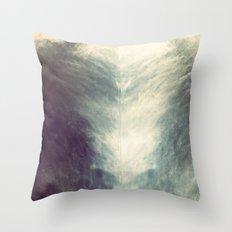 Mirrored Sky Throw Pillow