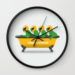 Cool Runnings - Alternative Movie Poster Wall Clock