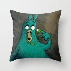 Mess Throw Pillow