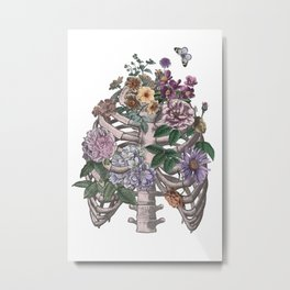 flowering ribs Metal Print