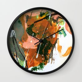 Untitled Abstract-Temper Wall Clock