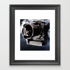 nikon d7000 Framed Art Print