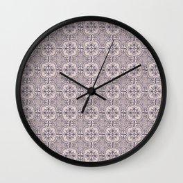 Portuguese tiles II Wall Clock