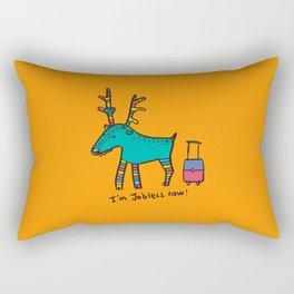 Jobless Rudolph Rectangular Pillow