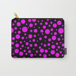 Bubbles ll (pink dots in the dark) Carry-All Pouch