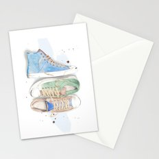 Converse Shoes Stationery Cards