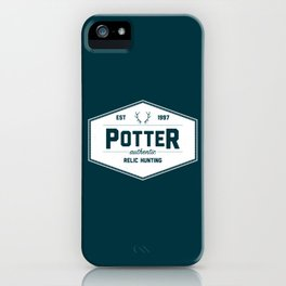 Potter Authentic Relic Hunting iPhone Case