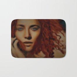 """Alexandria Revisited"" Female Portrait by Jeanpaul Ferro Bath Mat"