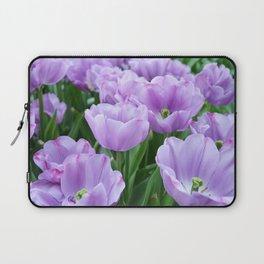 Mauve tulips Laptop Sleeve