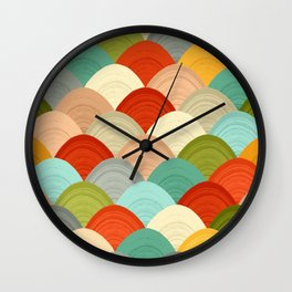 yarn hill dollops Wall Clock