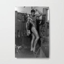 Rick Nude  Metal Print
